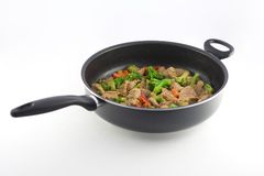 Stir fry Royalty Free Stock Photo