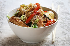 Stir-Fry Royalty Free Stock Photography