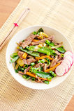 Stir fry Stock Image