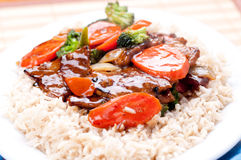Stir fry beef Stock Images