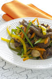 Stir Fry Beef. And Vegetables Stock Images