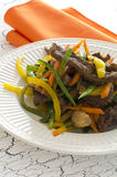 Stir Fry Beef. And Vegetables Stock Photos