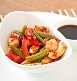 Stir fry chicken Royalty Free Stock Image