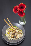 Stir Fry Dinner Royalty Free Stock Photography