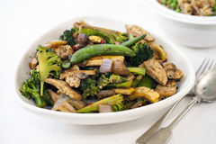 Stir fry dinner Royalty Free Stock Photos