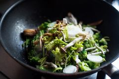 Stir-fry ingredients Royalty Free Stock Photos