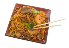 Stir Fry Noodles Royalty Free Stock Images