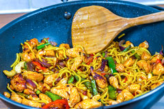 Stir Fry Royalty Free Stock Image