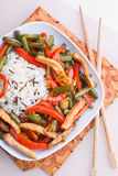 Stir fry Stock Photography