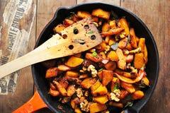 stir fry pumpking Стоковые Фото