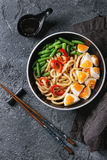 Stir Fry Udon Noodles Royalty Free Stock Photography