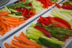 Stir fry vegetables as a background Royalty Free Stock Image