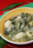 Stir soup Royalty Free Stock Image