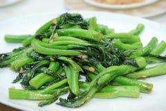 Stir stekte grönsaker royaltyfria bilder