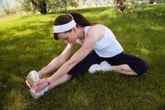 Stirata del tendine del ginocchio Fotografia Stock