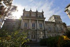 Stirbey宫殿在布加勒斯特 免版税库存图片
