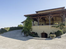 Stirbey王子酿酒厂,罗马尼亚 免版税库存图片