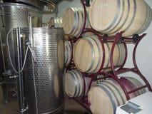 Stirbey王子酿酒厂,罗马尼亚 免版税库存照片