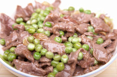Stired beef Royalty Free Stock Photography