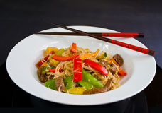 Stirfry Royalty Free Stock Images