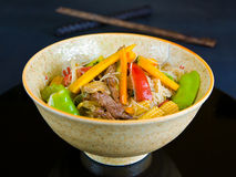 Stirfry Royalty Free Stock Photography