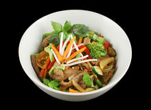 Stirfry Beef And Vegetables 1 Stock Image