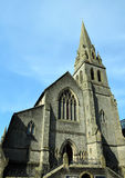 Stirling Baptist Church. Is church in the middle of the city located opposite to railway station Royalty Free Stock Photo