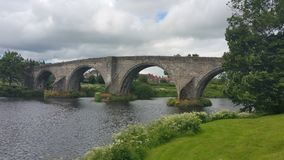 Stirling Bridge Arkivbilder