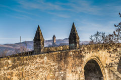 Stirling Bridge and Wallace Monument Royalty Free Stock Image