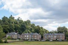 Stirling Castle är en av de största och viktigaste slottarna i Skottland Skottland Förenade kungariket Europa royaltyfri foto