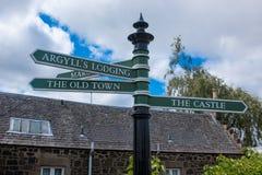 Stirling Castle är en av de största och viktigaste slottarna i Skottland Skottland Förenade kungariket Europa arkivbild