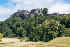 Stirling Castle is één van de grootste en belangrijkste kastelen in Schotland Schotland het Verenigd Koninkrijk Europa royalty-vrije stock afbeeldingen