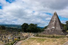 Stirling Castle é um dos castelos os maiores e os mais importantes em Escócia scotland Reino Unido Europa foto de stock royalty free