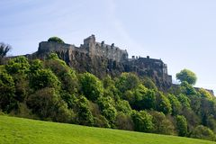 Stirling Castle. The ancient fortress and Royal Residence of Stirling Castle Royalty Free Stock Photo