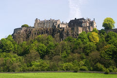 Stirling Castle. In Central Scotland, a former royal residence Royalty Free Stock Image