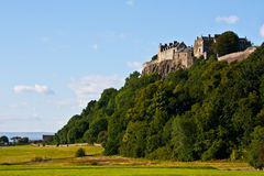 Stirling Castle. View of Stirling Castle, from the bottom of the hill Stock Image