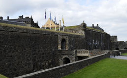 Stirling Castle Arkivfoto
