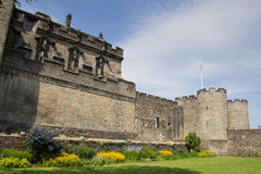 Stirling Castle gardens Royalty Free Stock Images