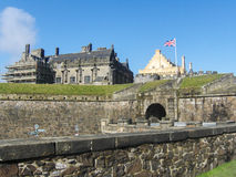 Stirling Castle historique, Ecosse, Royaume-Uni Images stock