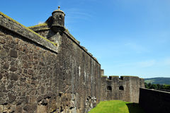 Stirling Castle - Walls. Stirling Castle, located in Stirling, is one of the largest and most important castles in Scotland, both historically and Royalty Free Stock Image