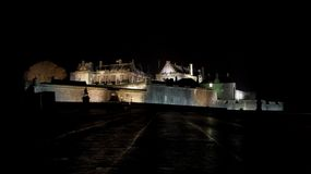 Stirling Castle at night Royalty Free Stock Photo