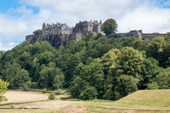 Stirling Castle is one of the largest and most important castles in Scotland scotland united kingdom europe. Stirling Castle, located in Stirling, is one of the royalty free stock images