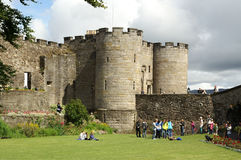Stirling Castle. One of Scotland's grandest castles due to its imposing position and impressive architecture, Stirling Castle commands the countryside for many Royalty Free Stock Photography