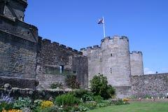 Stirling Castle, Schottland Schlossboden unterhalb des Haupteingangs lizenzfreies stockbild