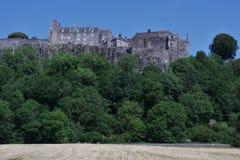 Stirling Castle, Schottland Von unterhalb angesehen lizenzfreie stockbilder