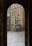Stirling castle - scotland heritage Stock Image
