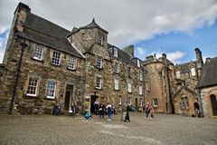 Stirling Castle in Scotland Royalty Free Stock Image