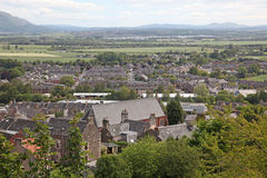 Stirling city  Stirlingshire, Scotland, UK Royalty Free Stock Images