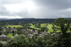 Stirling. The compact heritage mile that links Stirling's Old Town with its bustling modern city centre boasts the finest concentration of historic buildings in royalty free stock photos