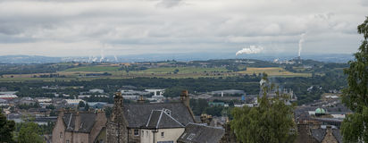 Stirling countryside Stock Photo
